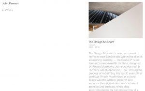 John Pawson - Best Architecture Websites 2018