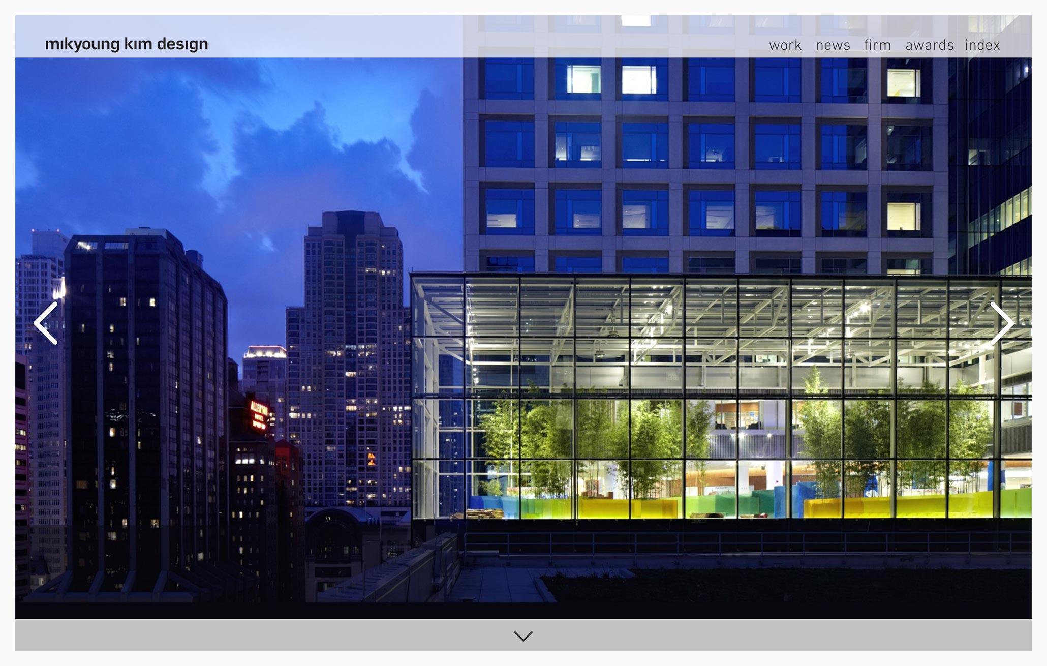 mikyoung kim design - Best Architecture Websites 2018