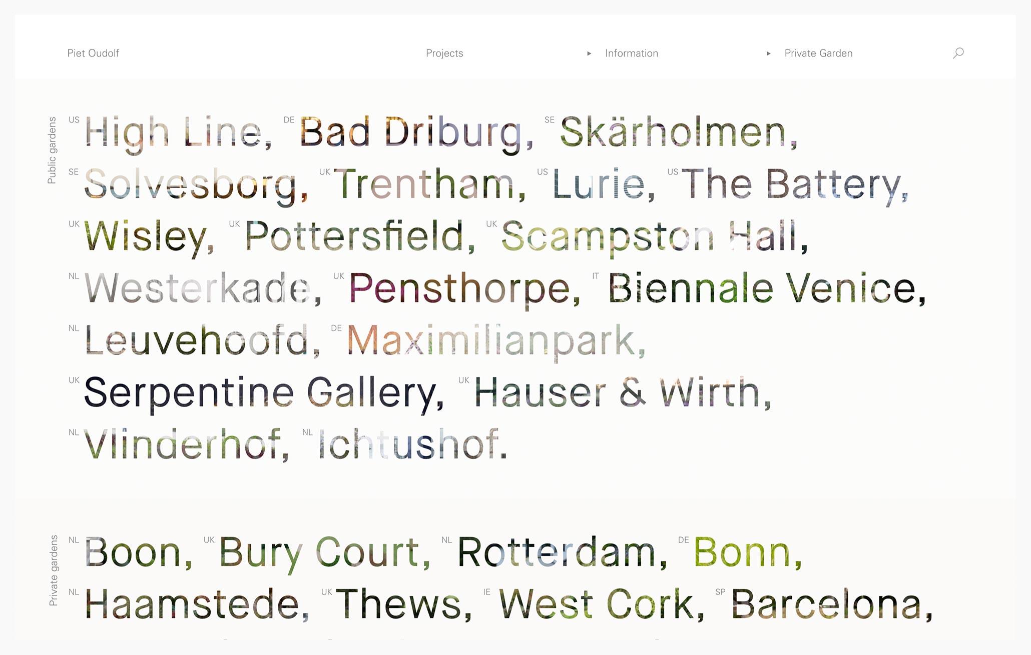 Piet Oudolf - Best Architecture Websites 2018
