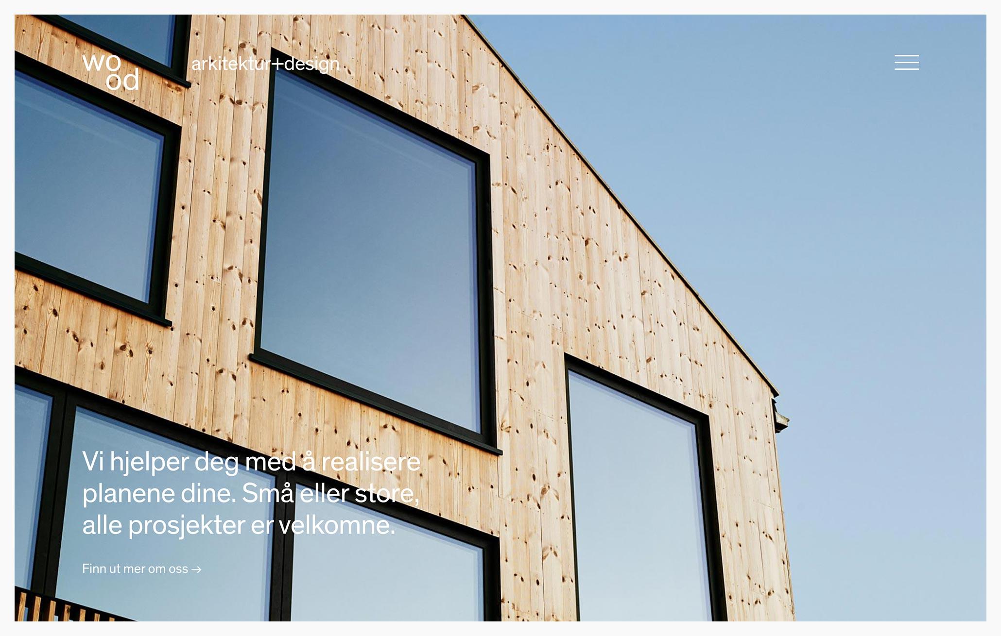 wood arkitektur+design - Best Architecture Websites 2018