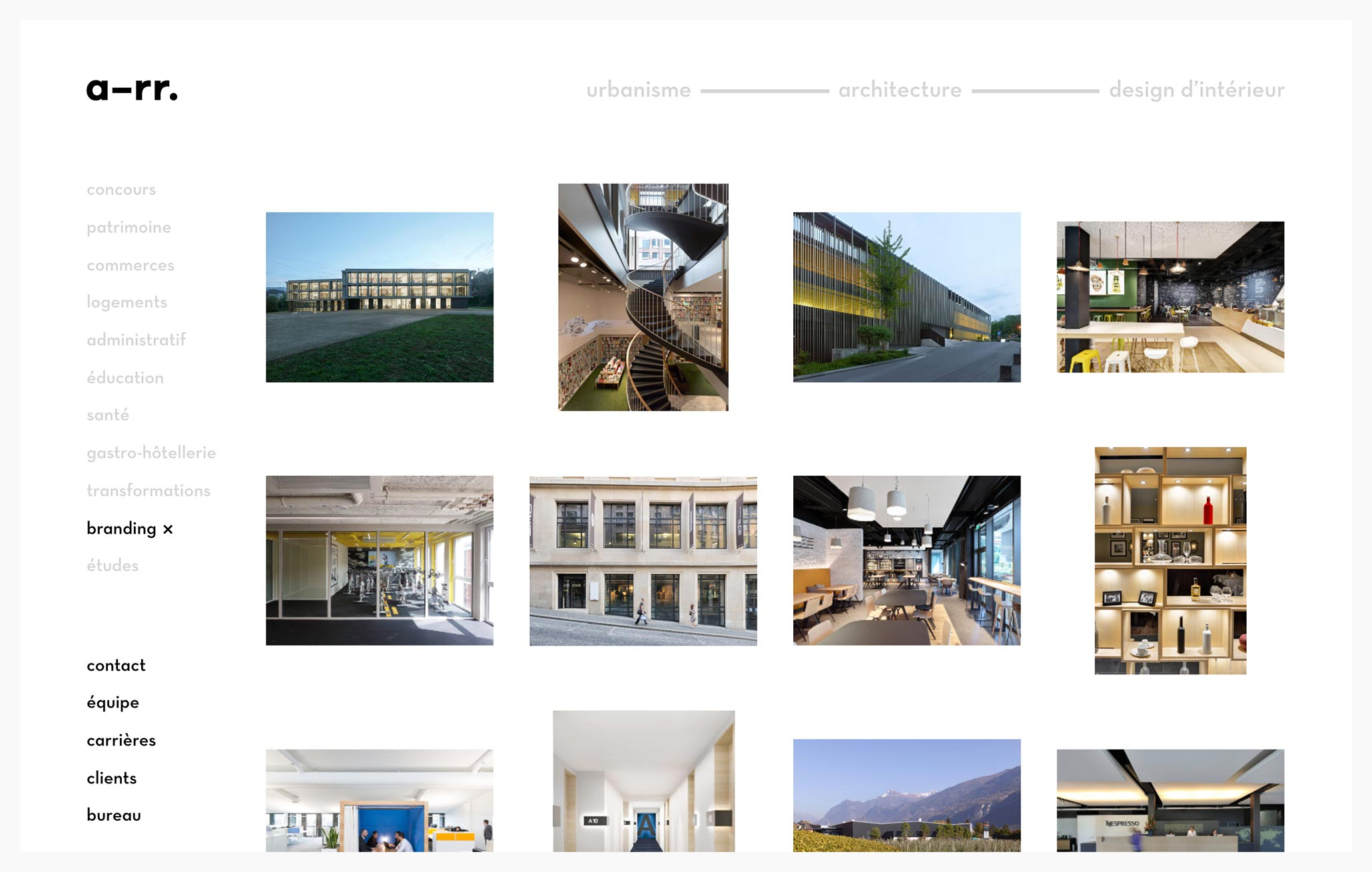 a-rr. - Best Architecture Website of 2019