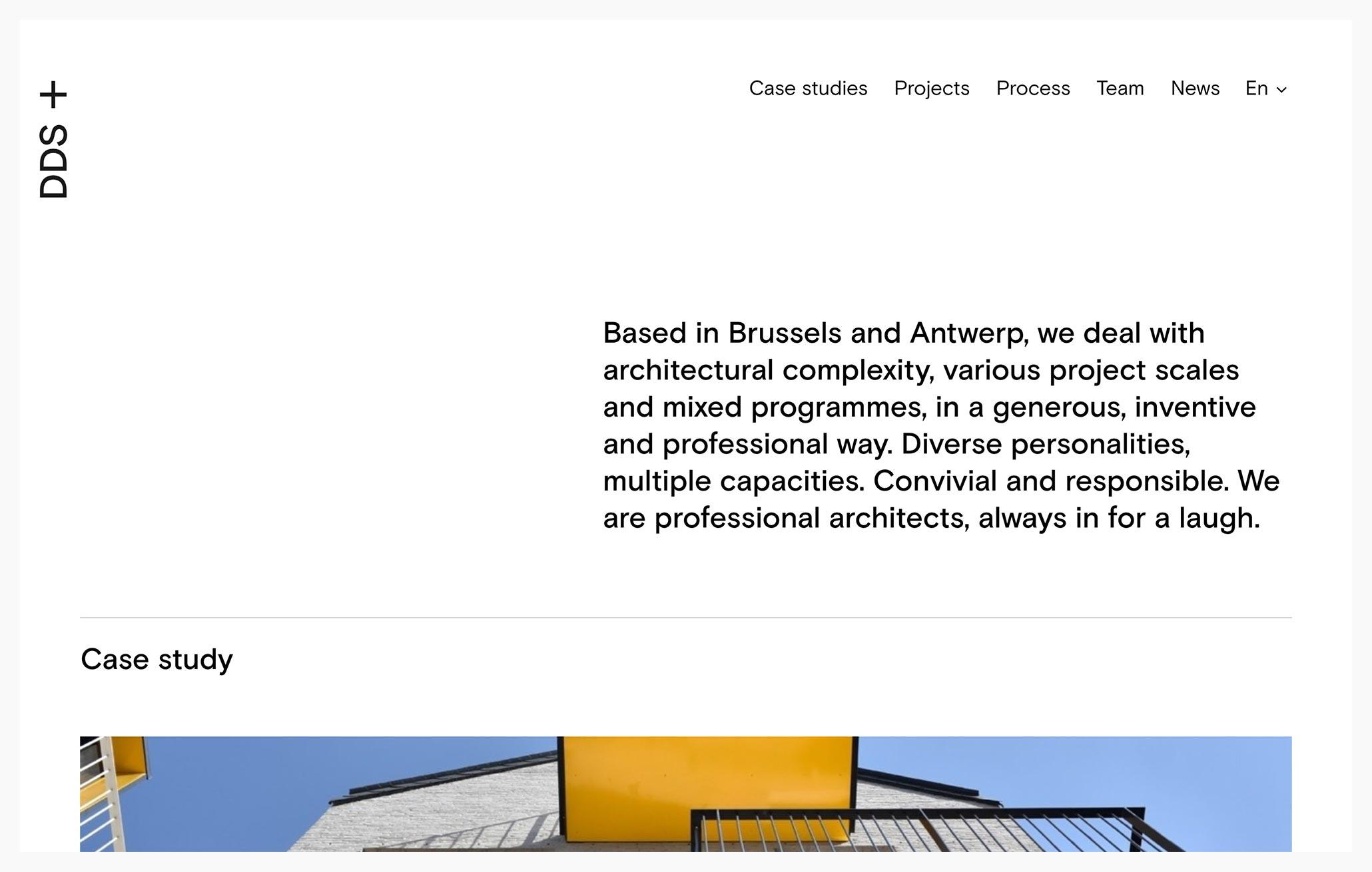 DDS+ - Best Architecture Website of 2019