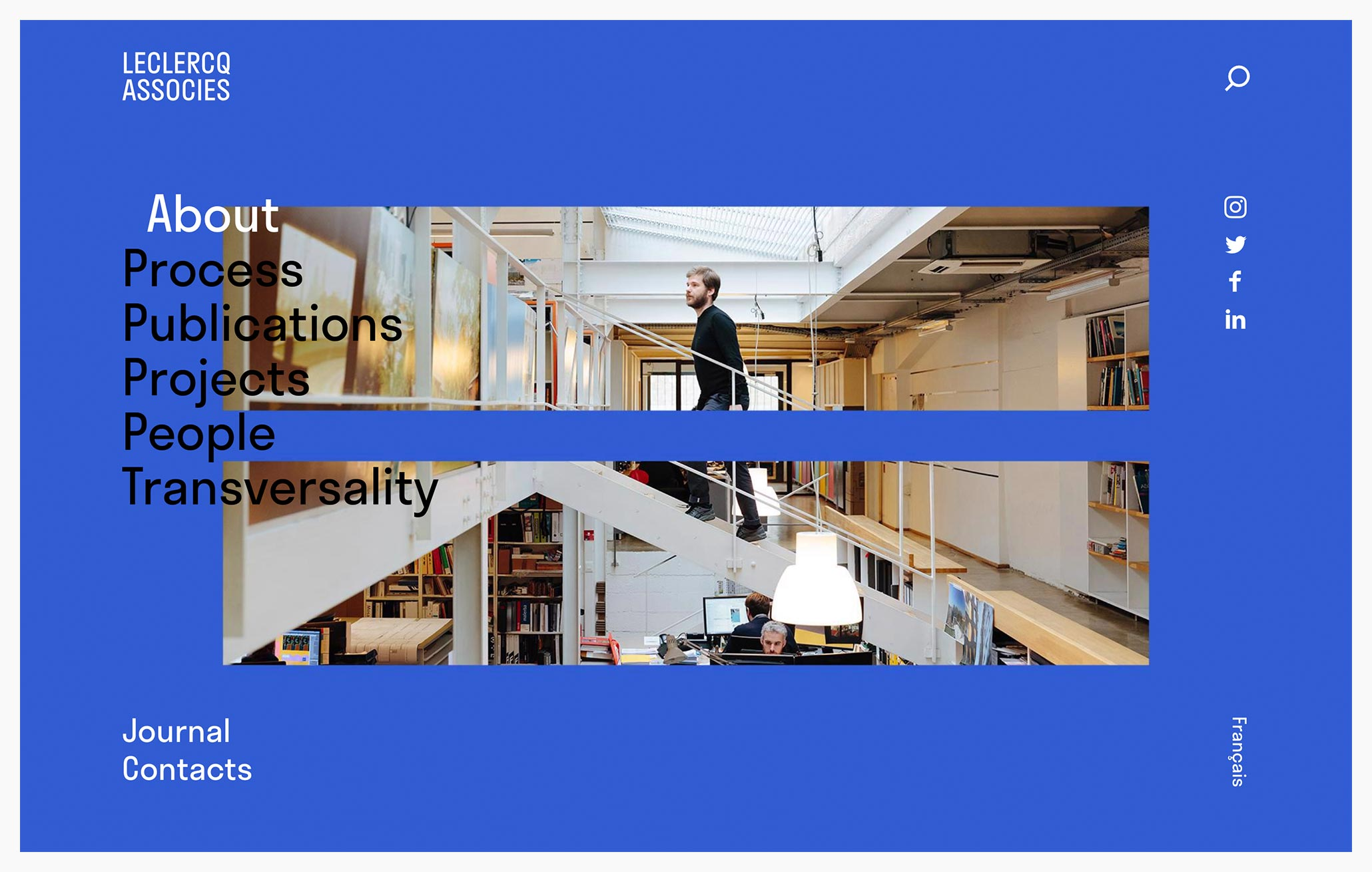Leclerq Architects - Best Architecture Website of 2019