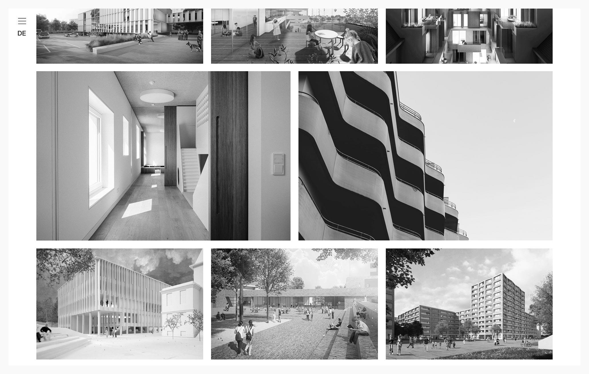 Schenker Salvi Weber - Best Architecture Website of 2019