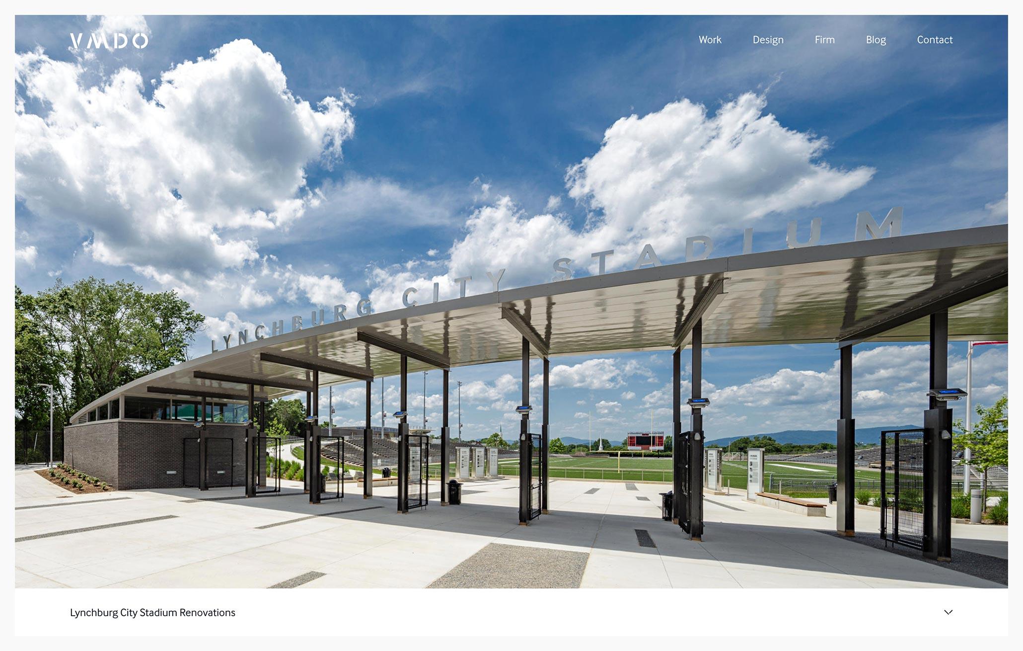 VMDO Architects - Best Architecture Website of 2019