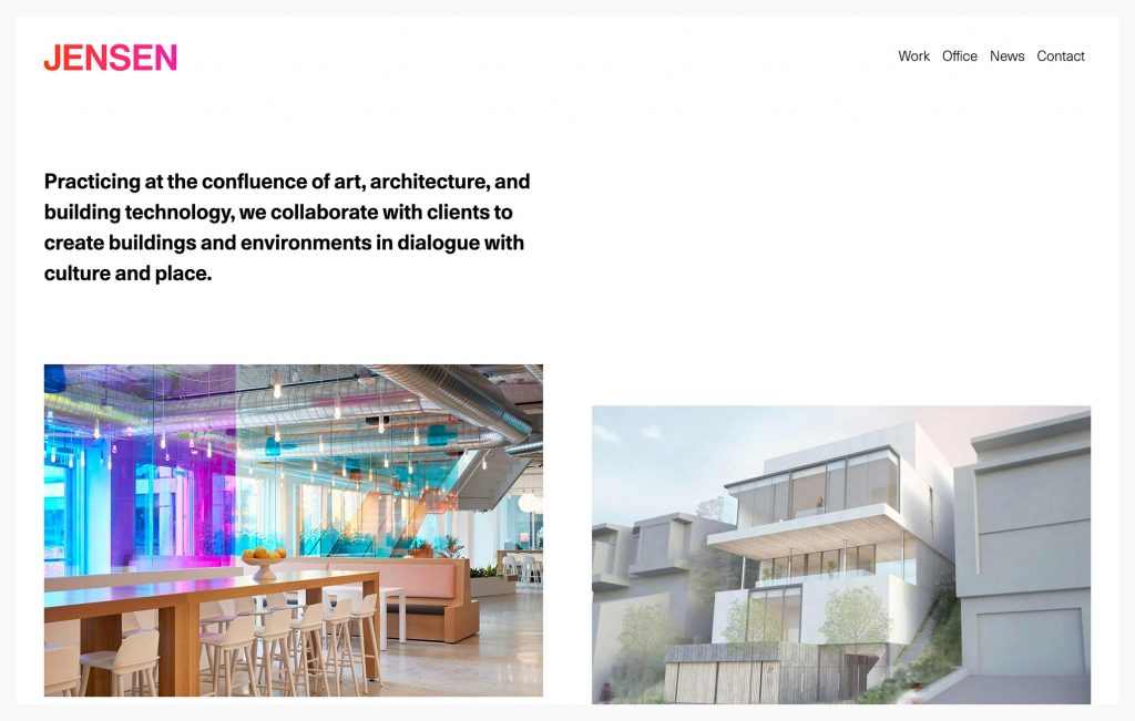 The revealing benefits of a well crafted Architecture Website!
