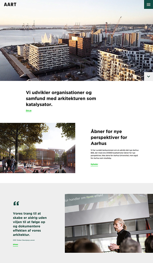 AART Best Architecture Website