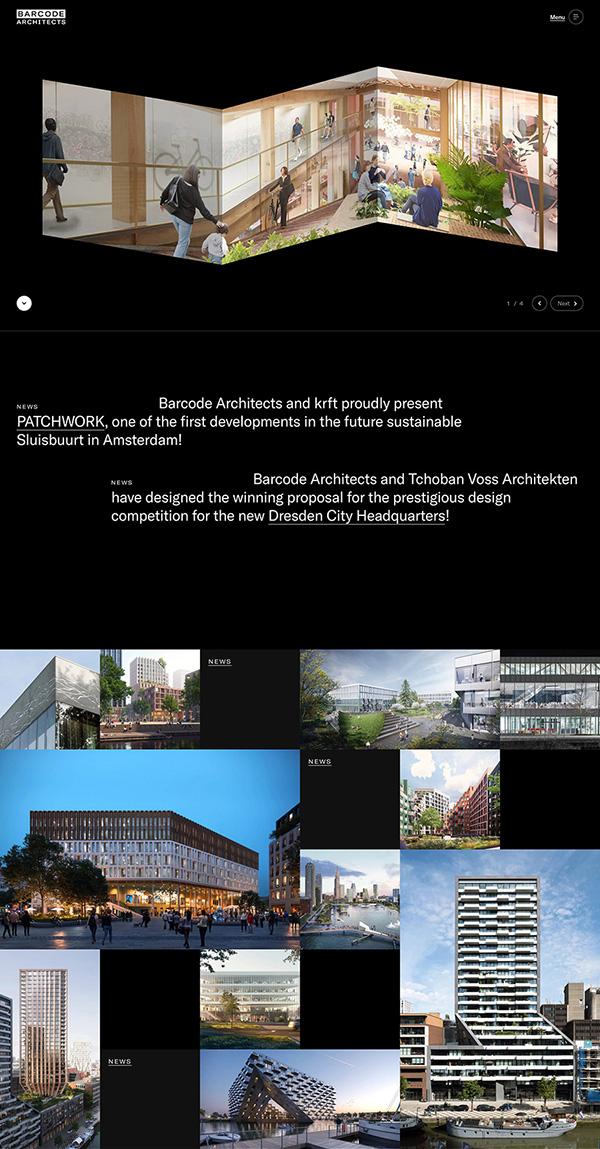 Barcode Architects Best Architecture Website