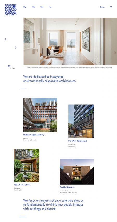 Cookfox Best Architecture Website