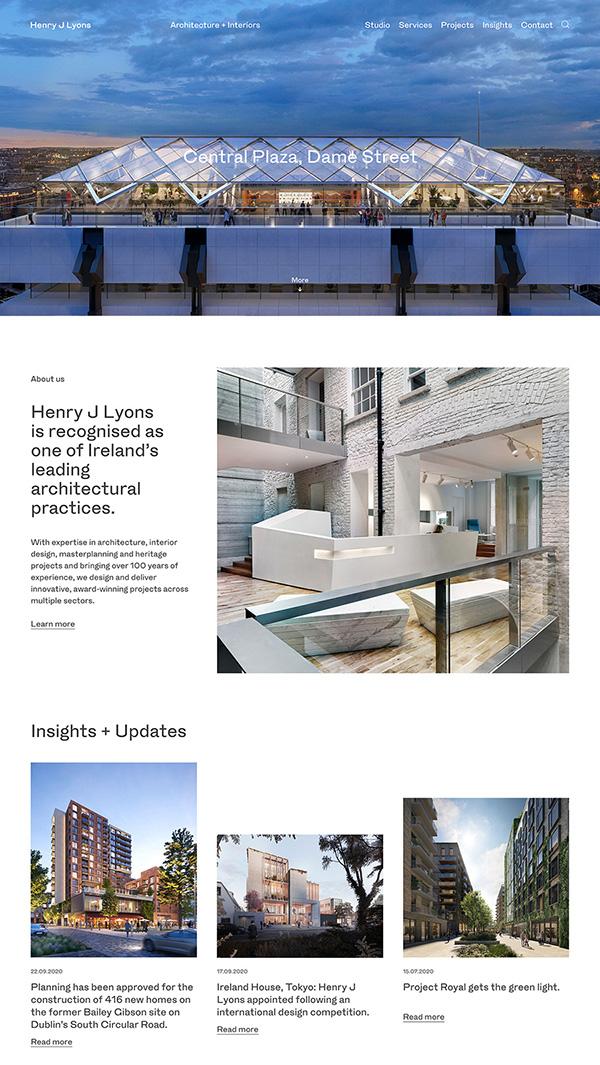 Henry J Lyons Best Architecture Website
