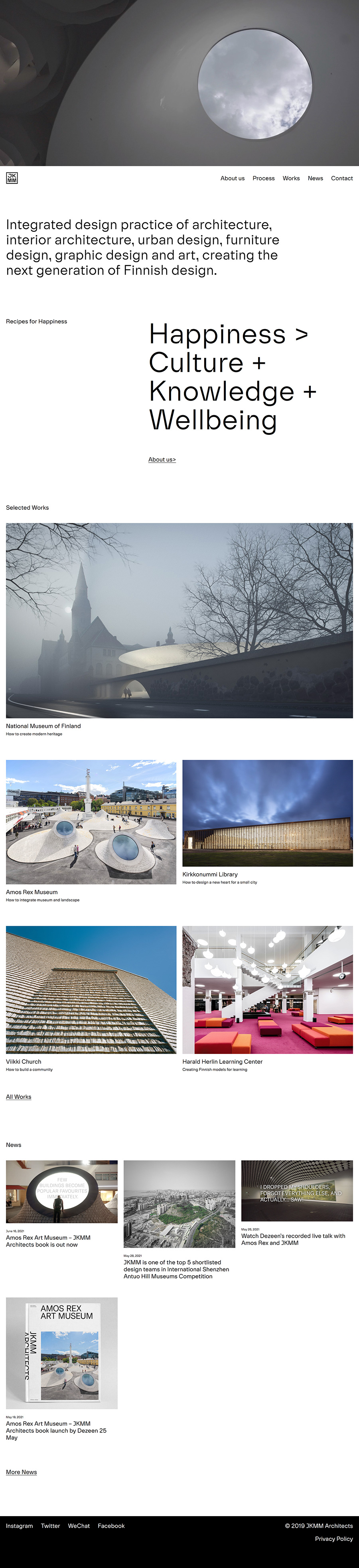 JKMM Best Architecture Website