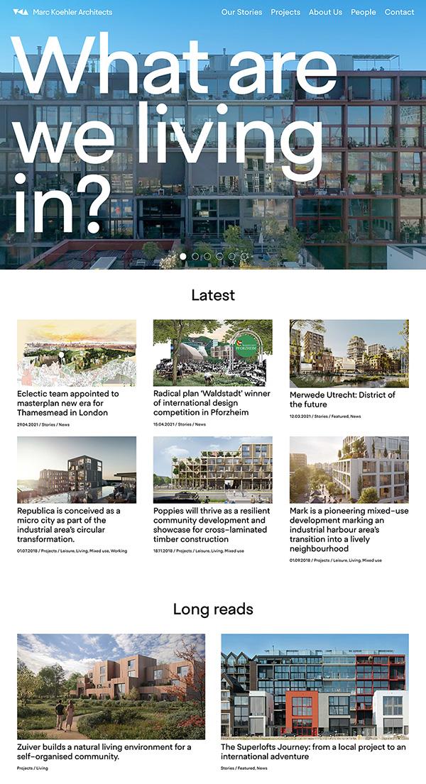 Marc Koehl Architects Best Architecture Website