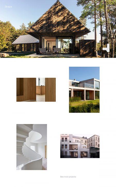 Skapa Best Architecture Website