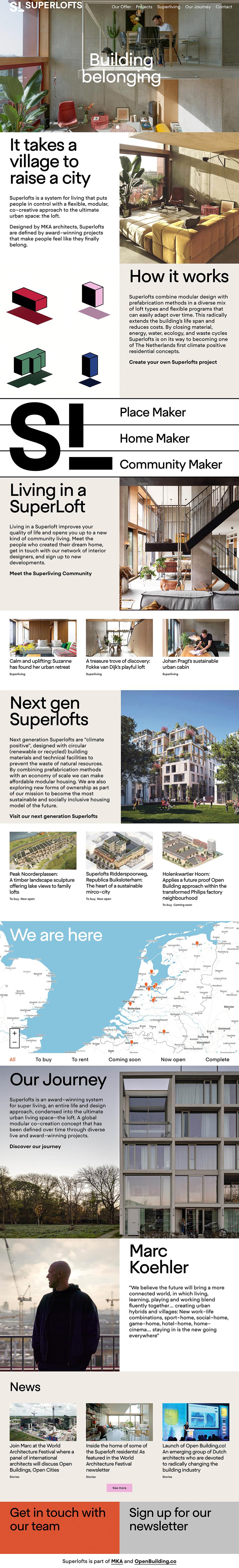 Superlofts Best Architecture Website
